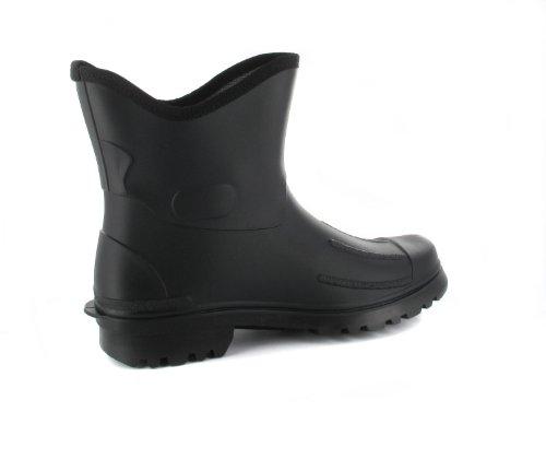 BOCKSTIEGEL® PETER Hommes - Bottines de caoutchouc (Tailles: 41-48) noir