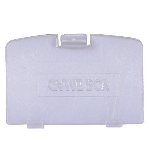 Preisvergleich Produktbild eJiasu Batterie-Abdeckung für Gameboy Color GBC Game Boy Color Replacement (Transparent)