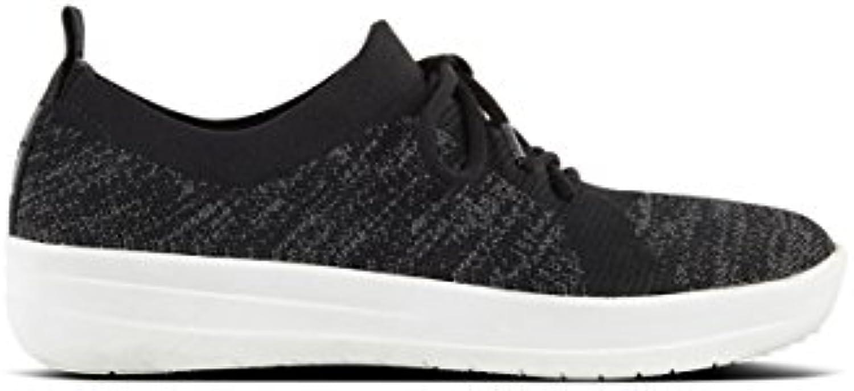 FitFlop F-Sporty Uberknit Sneakers Colour: Black, Size: UK5.5