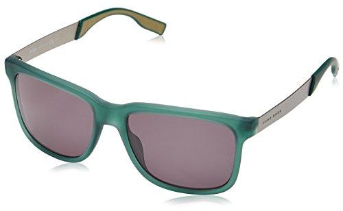Hugo Boss Herren Wayfarer Sonnenbrille E78/P9, Gr. One Size, Mehrfarbig