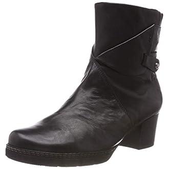 Gabor Shoes Comfort Basic, Botines Femme, Noir (Schwarz (Mel.) 17), 36 EU