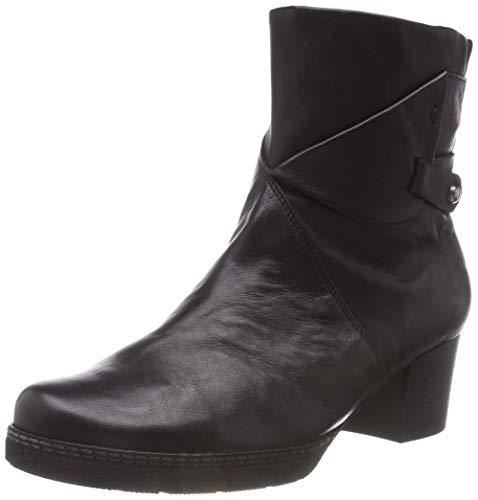 Gabor Shoes Damen Comfort Basic Stiefeletten, Schwarz (Mel.) 17, 38 EU
