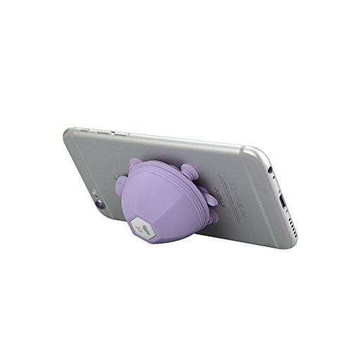 chekue-silicone-turtle-phone-tablet-holder-cord-winder-functional-phone-stand-mount-purple