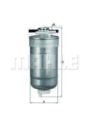 Knecht KL233/2 Filtre à carburant