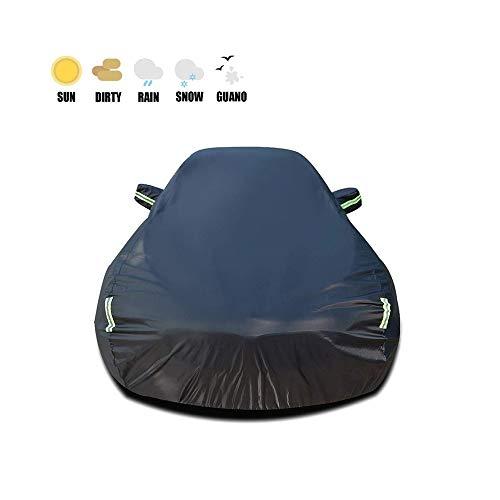 Autoabdeckung, Porsche 911 - Alternative Verwendung Innen Und Außen - Regenfest, Winddicht, Staubdicht, UV-beständig Outdoor Indoor Car Cover (Color : Black, Size : 911)