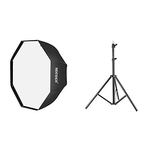 Neewer -  Difusor Softbox Paraguas Octogonal Estudio Flash con Bolsa de Transporte para Retrato o Fotografía de Producto, 120cm