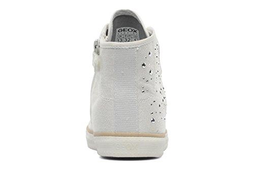 Geox J Ciak G. B, Sneaker bambina White
