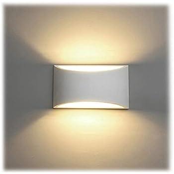 Murale Pour Moderne Couloir Murales Appliques Led Chaud Chambre 7w Salong9 InterieurBlanc Maison Applique Lampe Plâtre En NmnO8vw0