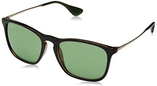 Ray-Ban Unisex-Erwachsene RB4187-6393/2 Sonnenbrille, Braun (Havana), 54