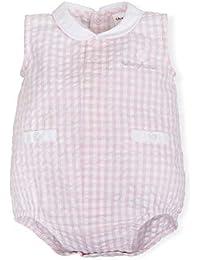 Tutto Piccolo 6384S19 Ropa para Bebé Niño o Niña Ranita Mono Peto Tricot de  Algodón (Tallas de 0 a 24 Meses) 24b442a60434