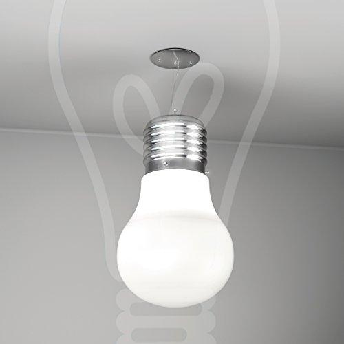 SOSPENSIONE TOP LIGHT MODELL BIG LAMP 1010/S5 - BI (BIANCO) -