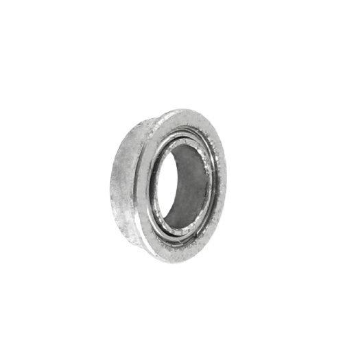 8mm x 5mm x 2.5mm tono argento sigillato Premium Flangiato Cuscinetto A Sfere