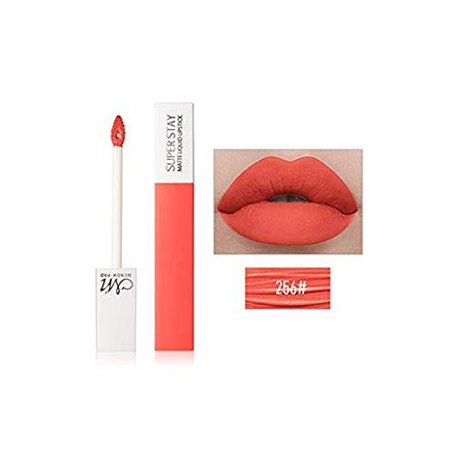 TTLOVE Damen Matt Nude Lipgloss,Lippenstifte Matte Lipstick Make Up 12 farben,Langanhaltend Und Wasserfest Nudefarben Non Stick Cup Lippenstift - Super Shine Apricot