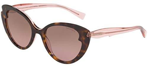 Tiffany Sonnenbrillen Paper Flowers TF 4163 Havana/Violet Brown Shaded Damenbrillen