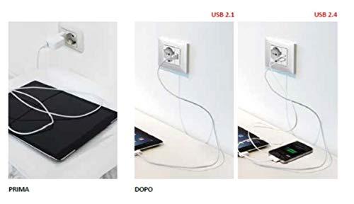 Zoom IMG-2 4box presa usb 2 4