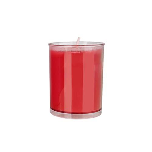 BESTOYARD SM Kerzen Erotik Kerzen Niedrigtemperatur Wachs Massagekerze Massagewachs Bondage Spielzeug für Paare Liebhaber Erwachsene (Rot)