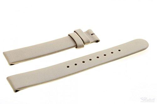 Boccia Original Lederband Armband für Uhr Modell 3238-02