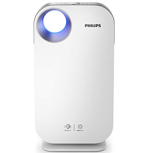 Philips AC4550/10 - Purificador de aire 104 m², 64 dB, 1,6 m, CC, 400 m³/h, China