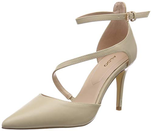 ALDO Damen Vetrano Pumps, Beige (Bone Miscellaneous 34), 40 EU Aldo Pumps