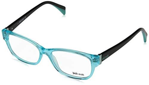 Just Cavalli Damen Brille JC0768 087 53 Brillengestelle, Türkis,