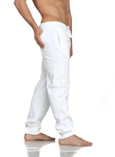 Urban Classics Mens Jeans Tackle Bianco