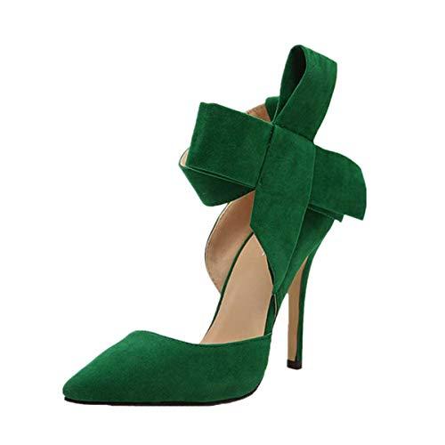 Sandalia Tacon Mujer con Mariposas Kanlin1986 Zapatos Mujer Casuales Correa de Tobillo Zapatos Mujer...