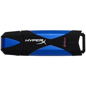 HyperX Data Traveler USB 3.1 Gen 1/USB 3.0 Flash Drive, 64 GB
