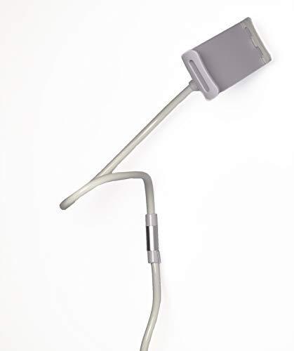 OnlyBest Handy- und Tablet-Halterung, verstellbar, Flexibler Schwanenhals, passend für alle Handys und Tablets (3-8 Zoll), perfekt für Schreibtisch oder Bett.