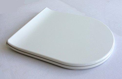 ADOB Duroplast WC Sitz Design, weiss mit Absenkautomatik
