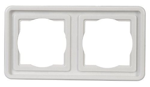 Preisvergleich Produktbild Kopp  Abdeckrahmen 2-fachVision arktis