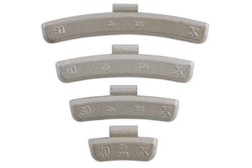 Connectez - 32862 Masses d'équilibrage pour Jantes en Alliage 50gram Boîte de 50