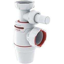 WIRQUIN PRO Siphon d'évier NEO AIR diamètre 40 mm avec Prise Machine à Laver