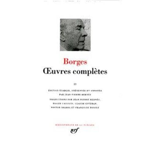 Borges : Oeuvres complètes, tome 1