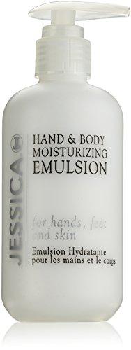 Jessica Cosmetics Hand und Body Moisturizing Emulsion, 251 ml