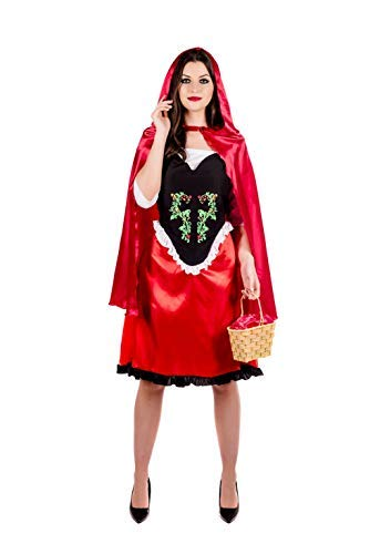 Fun Shack Damen Costume Kostüm, Red Riding Hood, Größe ()
