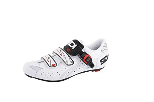 Hecha 5 Sidi Carbón Genius Blanco Zapatillas Mate atqdwnEE