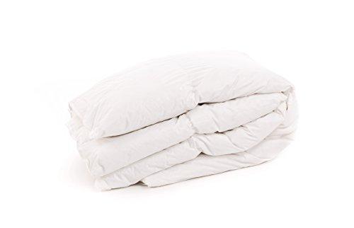 nightflyght 10,5Tog, Entenfedern und Daunen Bettdecke Doppelbett, Weiß