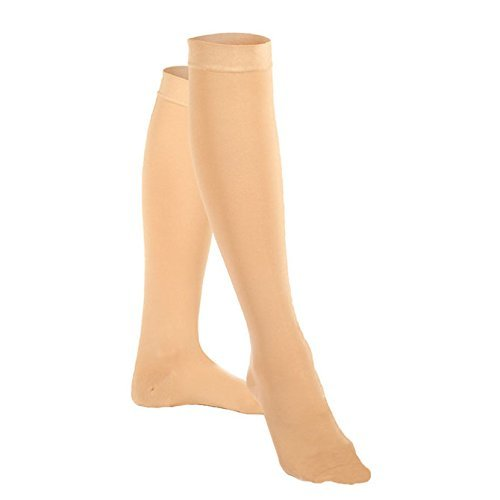 00ef1577e7c Venosan VenoMedical USA Closed Toe Knee Highs - 20-30 mmHg Short Beige  Medium Reg