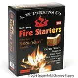 Ladrillo o al aire libre Pizza para horno, chimenea, madera caja de cerillas para fumador pellet estufa Camping barbacoa Fire principiantes, 144ct