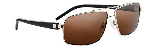 Drivewear smart sunglasses - polarisiert und photochromatisch - zum fahren, angeln, golfen, radfahren. Intelligentes andern der farb und lichtabsorption in abhängigkeit von den lichtverhältnissen (Gun gloss/Black, 60) (Auto Tönung 60)