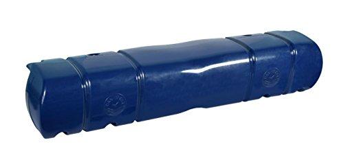 Dan-Fender: Großer Multifunktion-Stegfender - 900mmx180mmx130/180mm - erhältlich in weiß oder navyblau, Farbe:blau