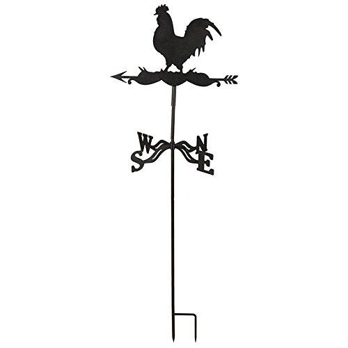 Esschert Design Wetterhahn Metall, braun, 45 x 40 x 134.3, WV19