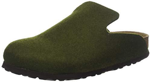 footprints birkenstock BIRKENSTOCK Unisex-Erwachsene Davos Pantoffeln, Grün Olive, 40 EU