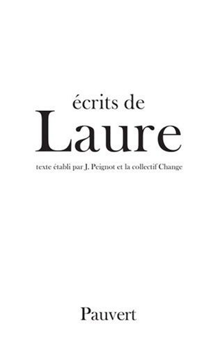 Laure : Ecrits de Laure