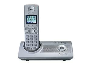panasonic kx tg8120gs schnurloses dect telefon silber elektronik. Black Bedroom Furniture Sets. Home Design Ideas