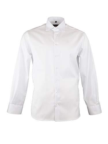 eterna Langarm Hemd MODERN FIT Cover Shirt Twill unifarben -