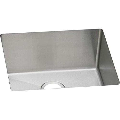 Elkao|#Elkay PLAFRU191610 16 Gauge Stainless Steel 21.5 Inch x 18.5 Inch x 10 Inch single Bowl Undermount Laundry/Utility Sink, by Elkay (Elkay 16)