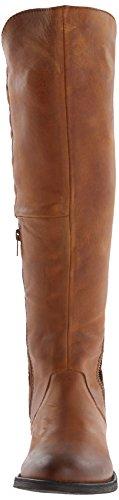 Steve Madden Northsde, Bottes pour Femme Cognac Leather