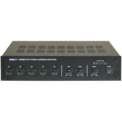 Eagle–Amplificador mezclador 60W línea 100V & 8Ohm