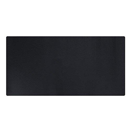 LiLan Pu Leder Schreibtischunterlage Schreibunterlage Große Gaming Mauspad, 1200X600mm, Schwarz -